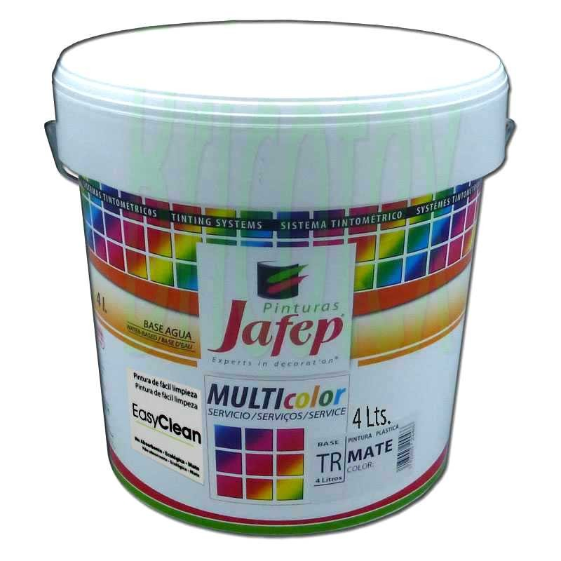 Pintura pl stica lavable para interior colores a la carta easyclean - Pintura plastica interior ...