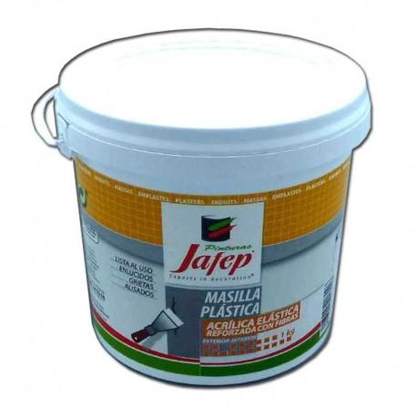 Masilla Plástica al Uso Reforzada con fibra de Vidrio