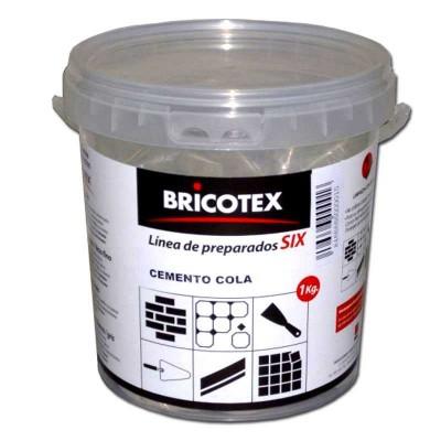Cemento Cola 1 Kg para Pegar Azulejos, Baldosas