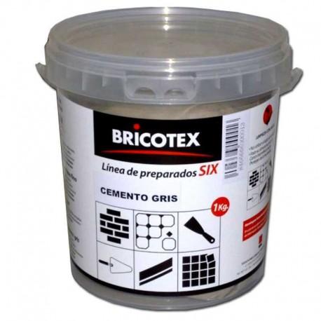 Cemento Gris 1 Kg para Mortero, Lechada