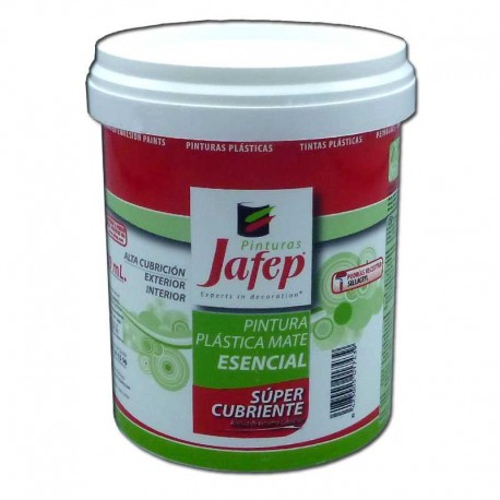 Pintura pl stica mate supercubriente esencial interior for Pintura plastica interior
