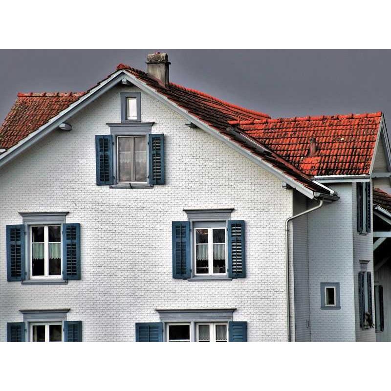 Pintura de fachadas revestimiento petreo liso para exterior interior Revestimientos para fachadas