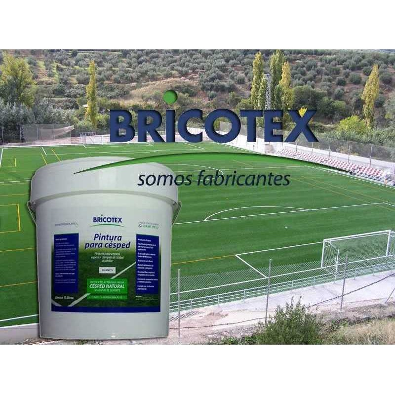 Pintura para c sped natural y artificial especial campos de f tbol - Cesped natural o artificial ...