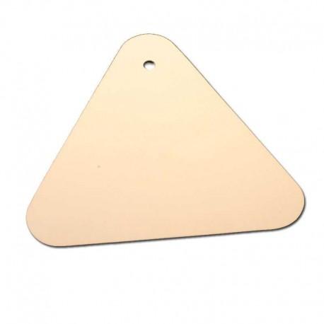Espátula de Plástico Triangular de Carrocero