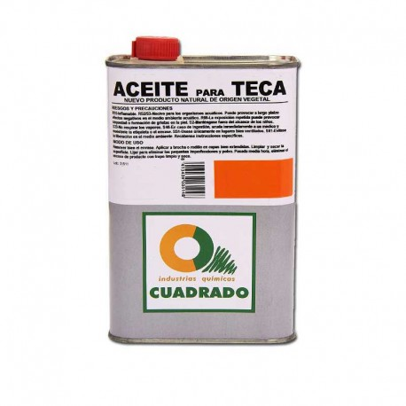 Aceite para Teca para Proteger Madera 1 Litro Interior o Exterior