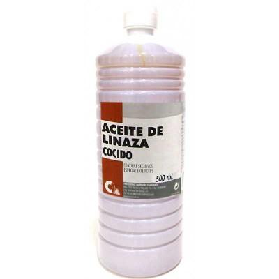 Aceite de Linaza para Madera Cocido