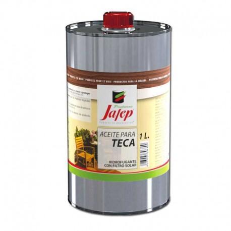 Aceite para Teca Incoloro para Proteger Madera Jafep
