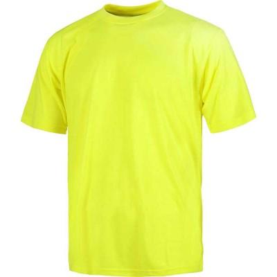 Camiseta de Trabajo Color Amarillo Alta Visibilidad