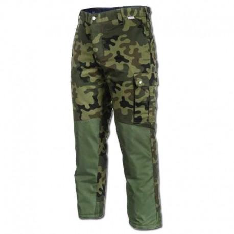 Pantalón de Camuflaje con Acolchado Interior y Refuerzos para Caza y Pesca