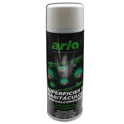 Limpiador aeroalcohólico para todo tipo de superficies en spray