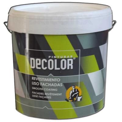 Pintura de Fachadas Revestimiento Liso Decolor