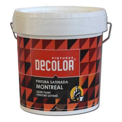 Pintura Plástica Satinado Montreal