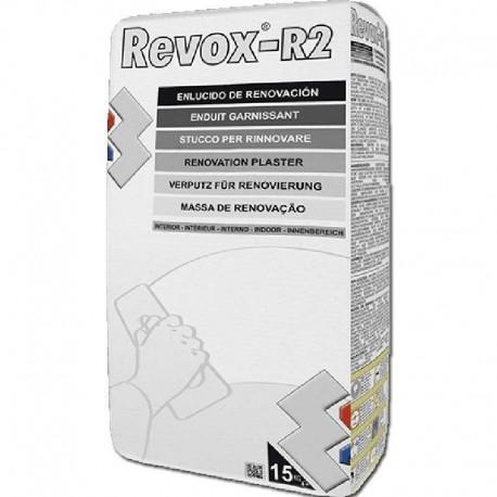Masilla para Tapar Gotelé Emplaste en Polvo Revox R2 15 Kg