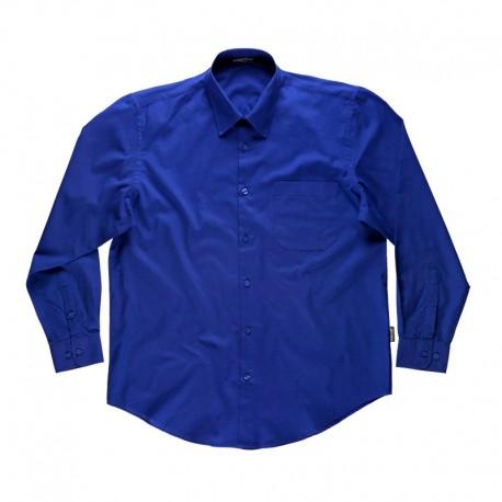 Camisa de Trabajo Básica de Manga Larga
