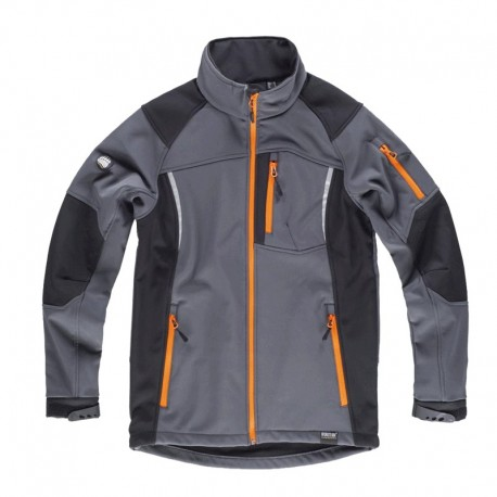 Chaqueta Polar Impermeable Workshell Combinada