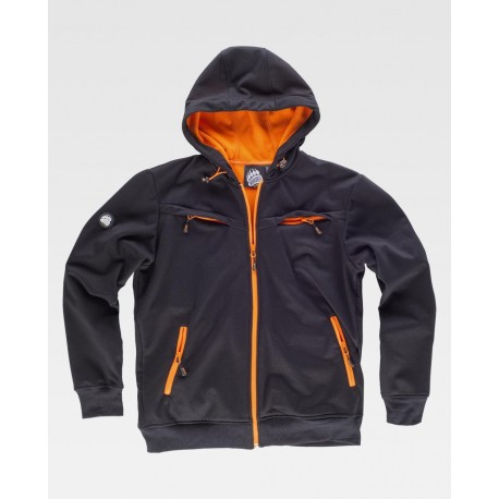 Sudadera Impermeable Workshell con cremallera