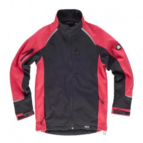 Chaqueta Workshell en Colores Combinados
