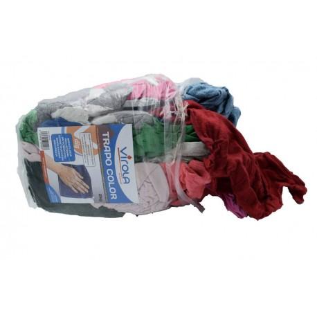Bolsa de trapo de limpieza de algodón de 2 kg.
