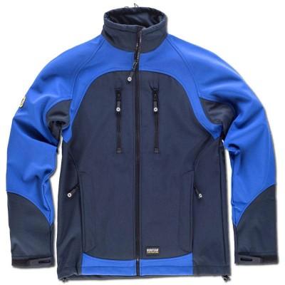 Chaqueta de Forro Polar en azul/verde/gris Colores de WorkTeam S9030