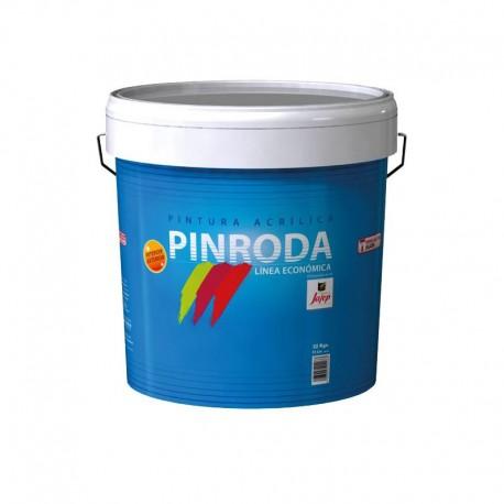 Pintura Plástica Lavable para Interiores Económica Pinroda Acrilico Mate