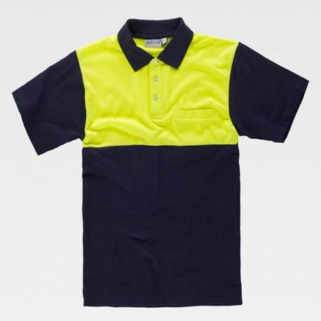 Camiseta Polo Manga Corta con Abertura en la Cintura