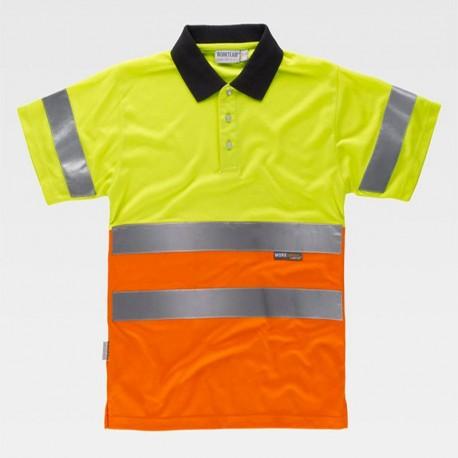 Camiseta Polo de Alta Visibilidad ISO Clase 2