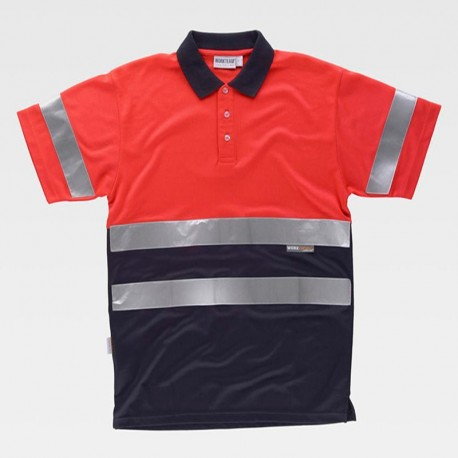 Camiseta Polo de Alta Visibilidad ISO Clase 1