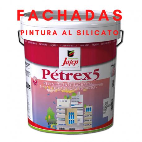 Pintura Especial al Silicato para Fachadas Altamente Transpirable Petrex 5