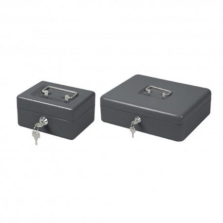 Caja metalica portamonedas 300x240x90mm