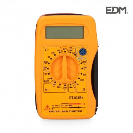 Polimetro digital de bolsillo.