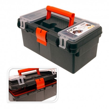 Caja herramientas serie brico 36x16x19cm