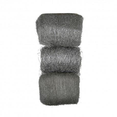 Set 3 lanas de acero dura/medio/suave