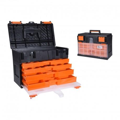 Caja herramientas con cajones 45x26x32cm