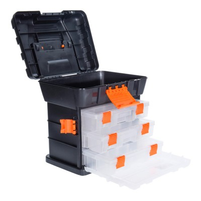 Caja herramientas con cajones 34x26x35.5cm fx tools