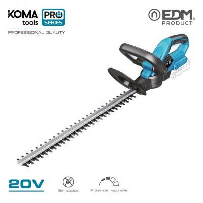 Cortasetos 20v (sin bateria y cargador) koma tools pro series battery edm