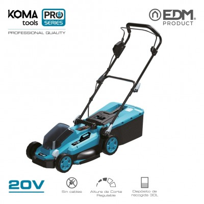 Cortacesped 20v (sin bateria y cargador) koma tools pro series battery edm