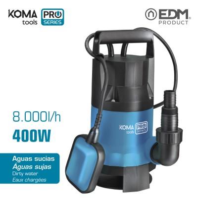 Bomba 400w agua sucia koma tools
