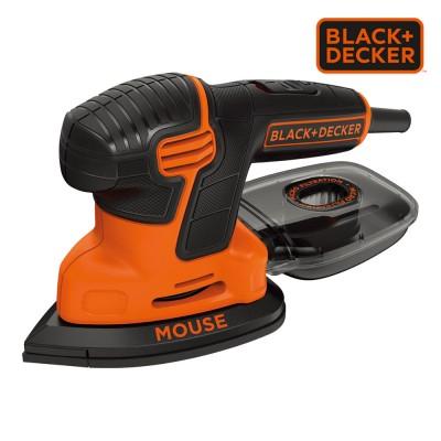 *s.of* lijadora de detalle mouse® 120w ka2000-qs black+decker