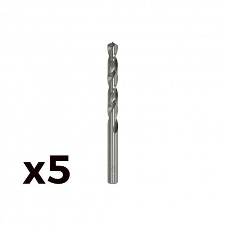 Pack 5 brocas cilind. a.rapido de 10.75mm m107