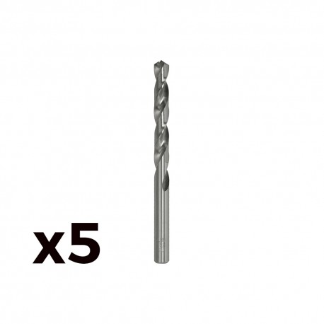 Pack 5 brocas cilind. a.rapido de 11.00mm m11