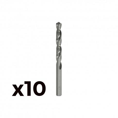 Pack 5 brocas cilind. a.rapido de 13.00mm m13