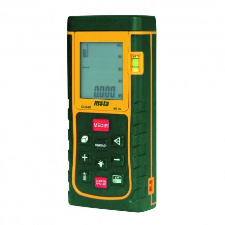 *ult.unidades* medidor distancias laser mota 40mts cl040