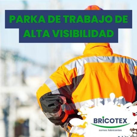 Parka de Trabajo de Alta Visibilidad
