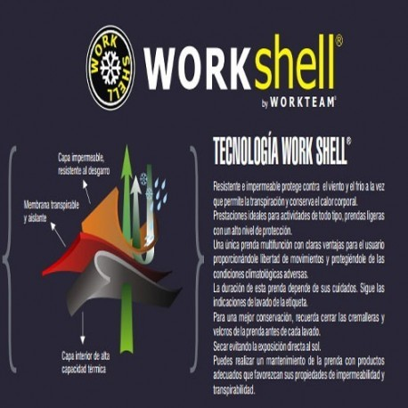 Prendas Workshell