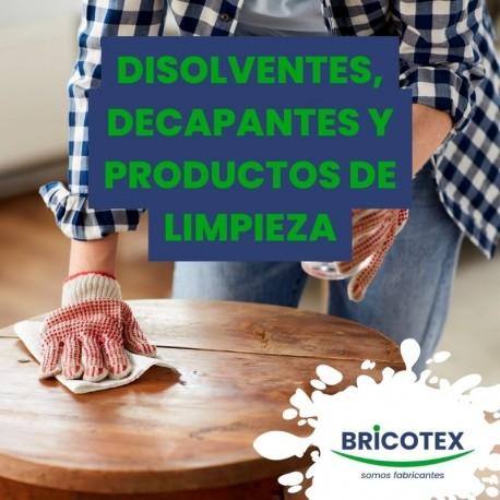 Disolventes, decapantes y producto de limpieza
