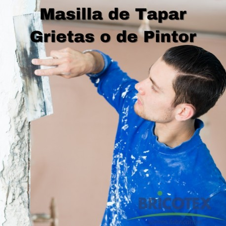 Masillas de tapar grietas o de pintor