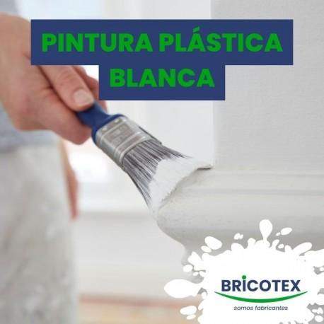 Pintura plástica blanca