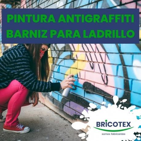 Pintura antigraffiti / barniz para ladrillo