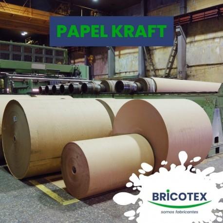 Bobinas de Papel Kraft y Plásticos Protectores