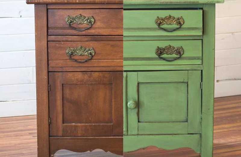 Cómo Restaurar Muebles Con Pintura Efecto Tiza